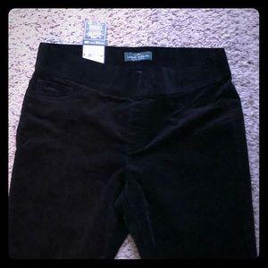 Ralph Lauren Black corduroy jeans